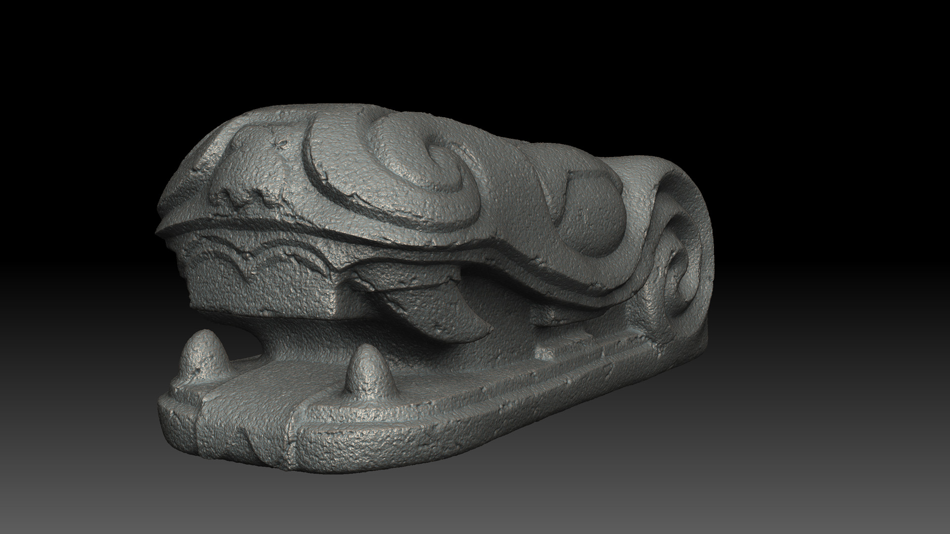 Aztek Dragon Head